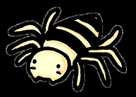 クモのイラスト素材